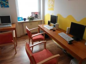 helfen zu leben - Kompetenz- und Trainingshaus - Medienraum